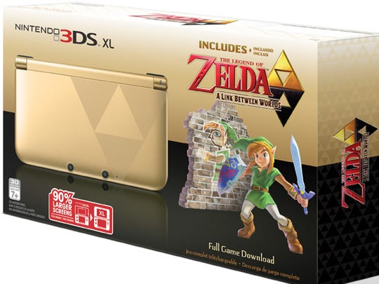 The 'Legend of Zelda' 3DS XL bundle will be on sale at Target for $149.99.