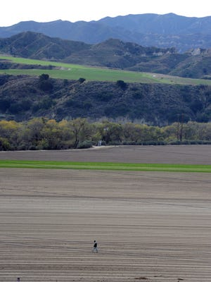 The proposed Newhall Ranch development site is along Highway 126 just over the Ventura County line in Los Angeles County.