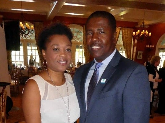 Ernie Lamour, CEO of the Ridgewood YMCA, and his wife