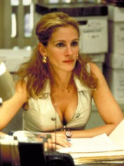 """Julia Roberts as the title character in the 2000 film """"Erin Brockovich"""""""