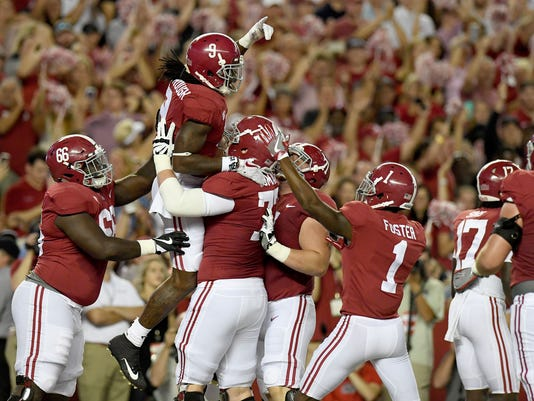 NCAA Football: Mississippi at Alabama