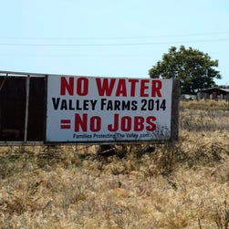 California's Central Valley this month.
