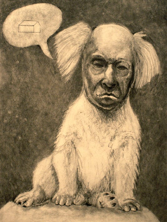 Perro, graphite drawing by Andres Arizaga.jpg