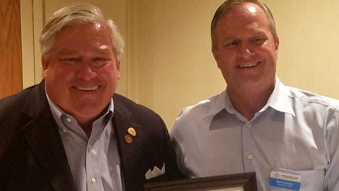 The Boys & Girls Clubs of Greater Conejo Valley announces the resignation of its CEO/president, Mark Elswick, right. Serving on an interim basis in the role will be Dean Lesiak, left.