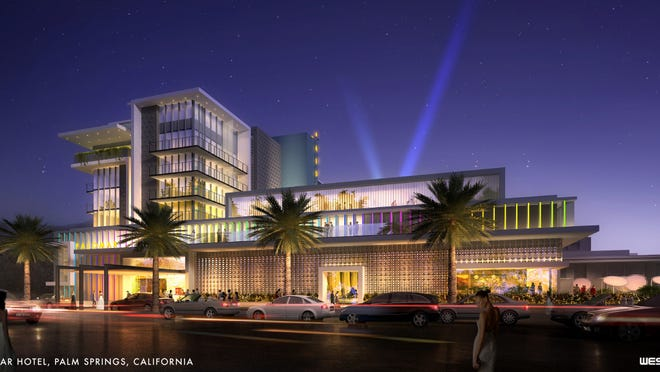 Groundbreaking for the Kimpton Palomar hotel in Palm Springs is scheduled for Oct. 16.