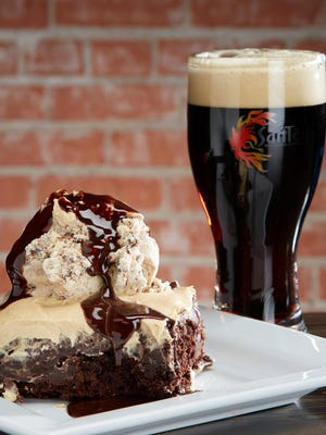 SanTan Brewing Company: Brownies are made with the brewery's seasonal beers, such as Sex Panther Double Chocolate Porter, and served with housemade gelato ($7.50). Details: 8 S. San Marcos Place, Chandler. 480-917-8700, santanbrewing.com.