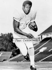 Paul Careathers was a fullback at Tennessee  from 1972-74.