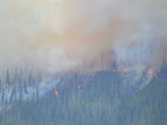 Glacier National Park Fire Howe Ridge.jpg