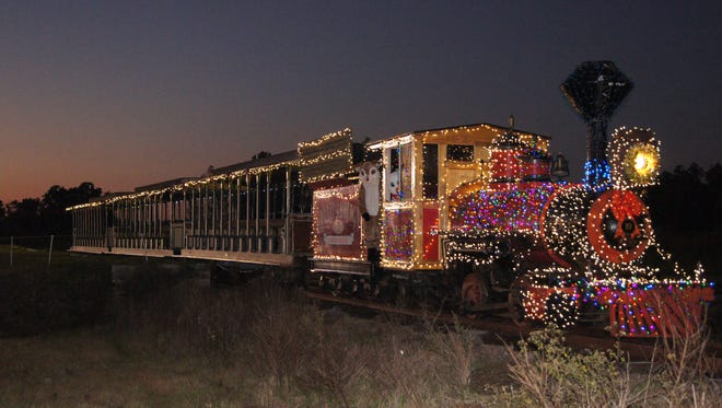 The Christmas Express is a renovated 1880s steam engine that takes you back in time on a Williston family's property.