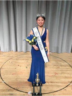 Miss Black Clarksville 2018 Michelle Park.