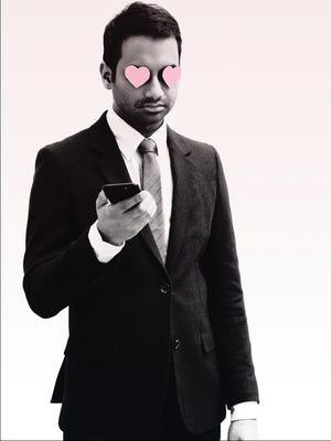 "The jacket of ""Modern Romance"" by Aziz Ansari."
