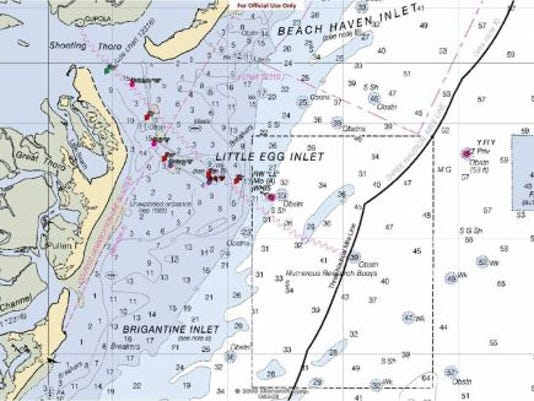 Coast Guard to temporarily discontinue navigational aids in Little Egg Inlet