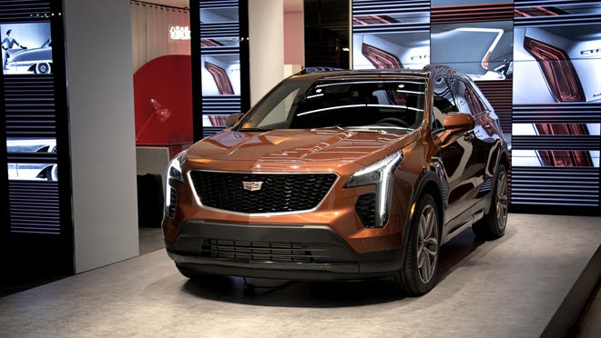 Cadillac's new XT4 crossover.