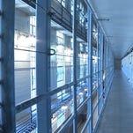 Folsom State Prison cellblock