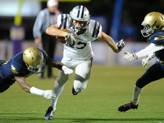 Farragut's Braden Collins has more than 20 college