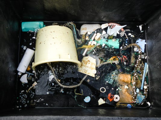EPA AT SEA POLLUTION GREAT PACIFIC GARBAGE PATCH DIS POLLUTION ---