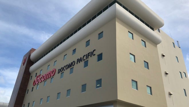 The former Ben Franklin building in Tamuning, now renovated as the headquarters for Docomo Pacific.