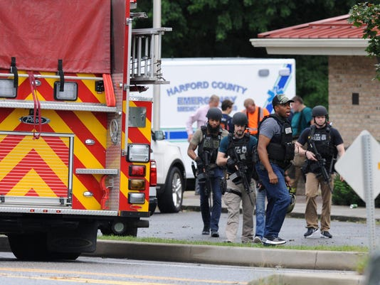 'Multiple victims' in Harford County shooting, sheriff's office says