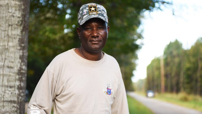 Retired National Guard Laddie McLemore gives back to the Lumberton community by helping with a variety of service projects.