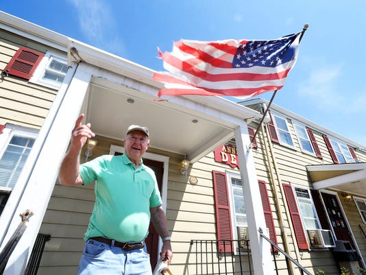 Residents around the area of Trump National, President Trump's golf course in Bedminster react to his arrival there this weekend and how it may affect the quite countryside.