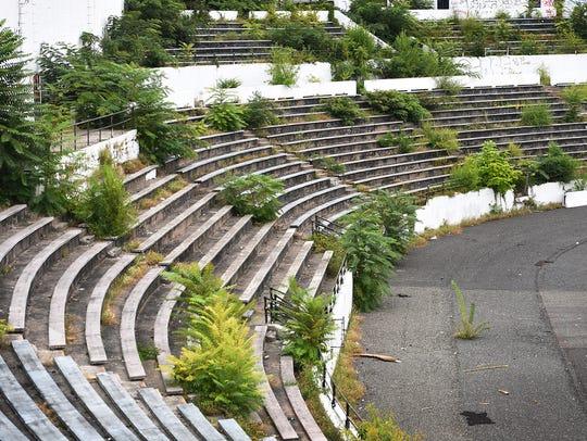 General scene of the historic Hinchliffe Stadium in