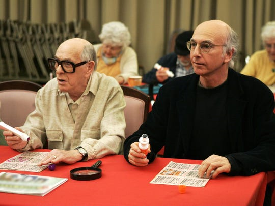"""Shelley Berman (left) and Larry David appear on """"Curb"""