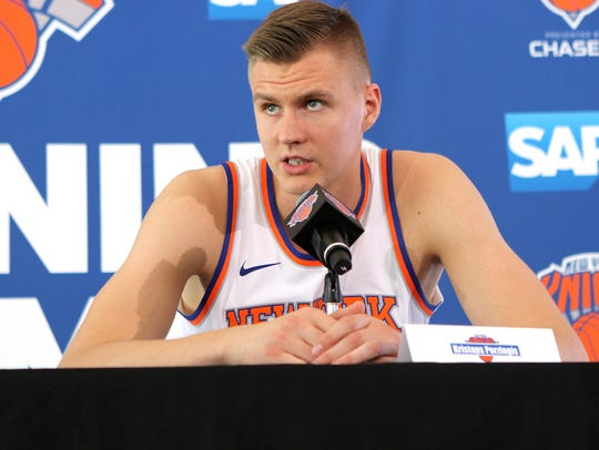 Kristaps Porzingis talked about his summer and how