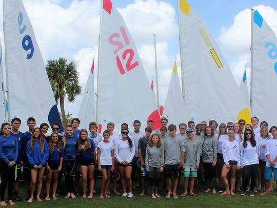 The 2017 - 2018 US Sailing Center Martin County High