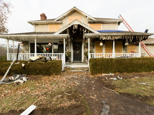 The Secor family's Mahwah home was destroyed in a fire