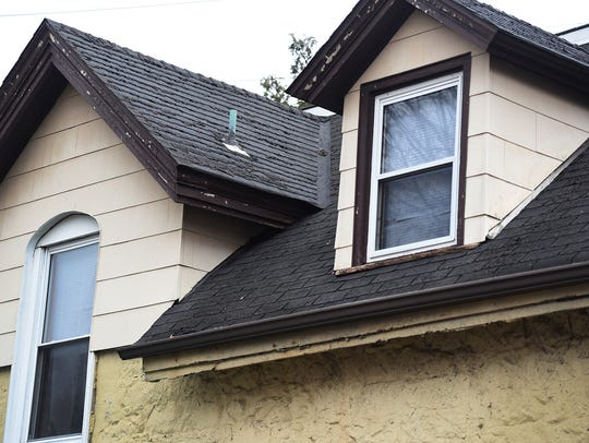 The home's roof and structural arches are failing,