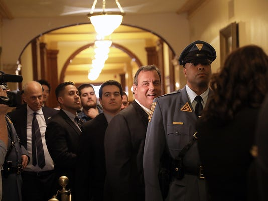 Governor Chris Christie delivers his final State of the State address.
