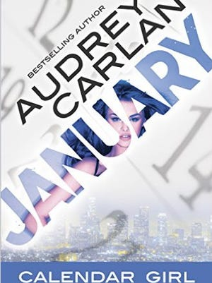 'January: Calendar Girl,' the first book in an erotic series by Audrey Carlan.