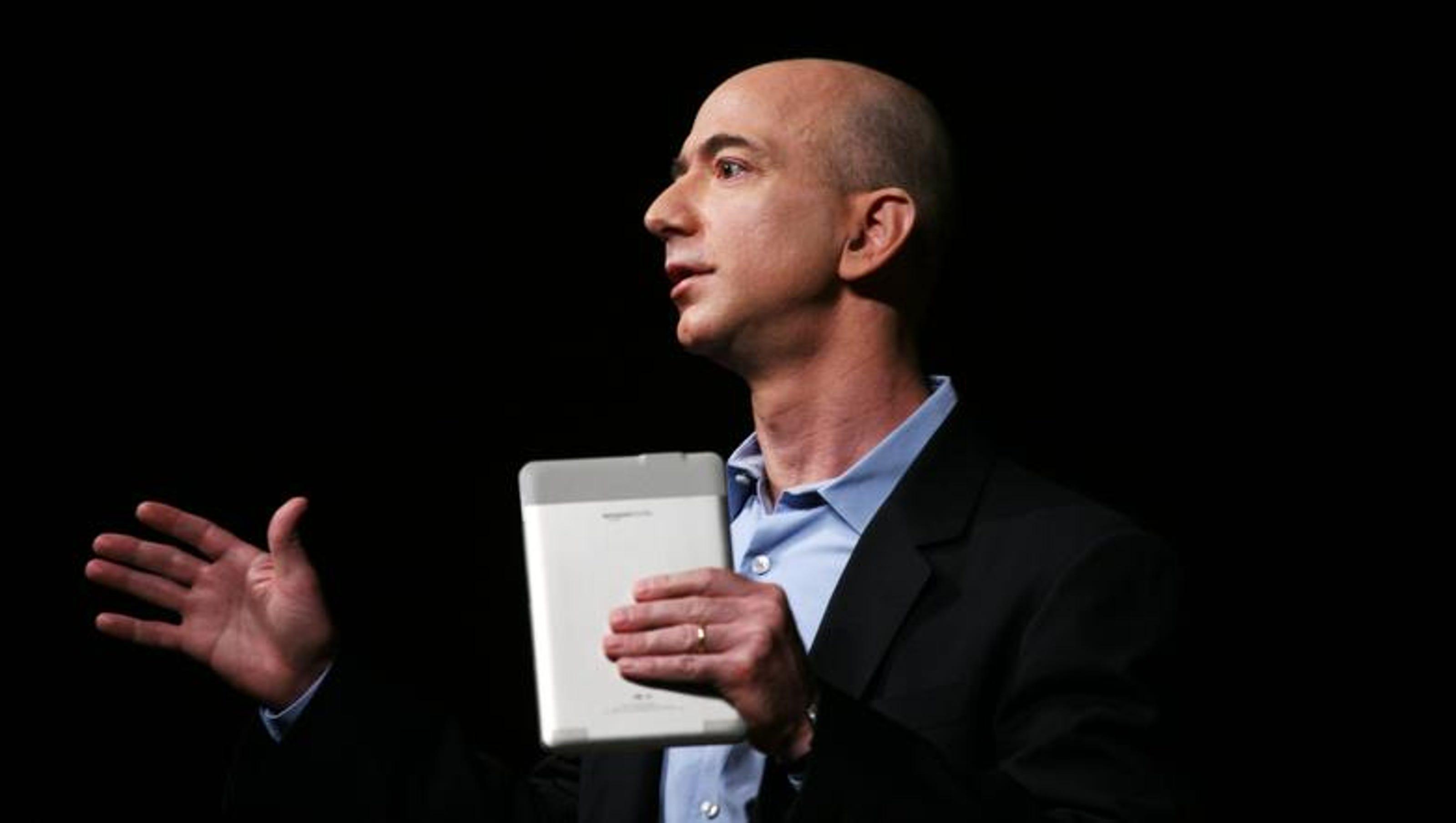 Jeff Bezos Shares Thoughts On Washington Post Purchase Amazon Products