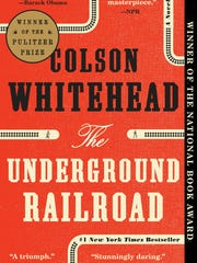 The paperback edition of 'The Underground Railroad'