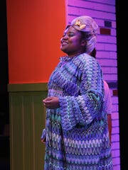"""Shinnerrie Jackson stars as Motormouth Maybelle in Barn Theatre's """"Hairspray."""""""