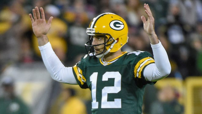 Packers QB Aaron Rodgers has thrown 19 TDs in the last seven games.