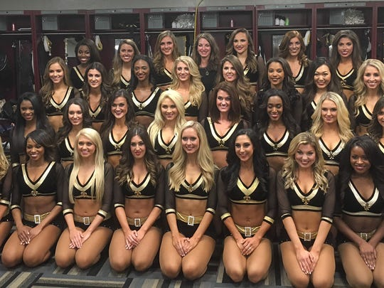 The Saintsations, the New Orleans Saints' dance squad, counts a number of Mississippians among its members.