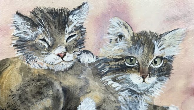 """Small Work: """"Cats"""" by Cindy Sarkady"""