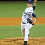 Wright masterful, but Blue Wahoos bats unable to help in a 2-1 loss against Barons