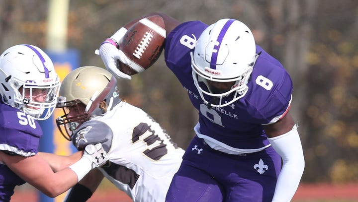 Football: Despite limited reps at New Rochelle, Jordan Forrest's recruiting takes off