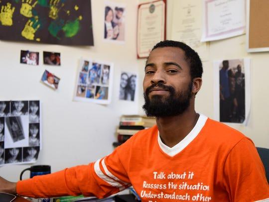 Tavon Benson grew up in Baltimore's Druid Heights.