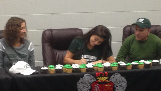Asheville High senior Johanna Stichel has signed to play soccer for Greensboro College.