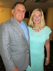 Jhn and Missy Pou at Little Theatre Gala.