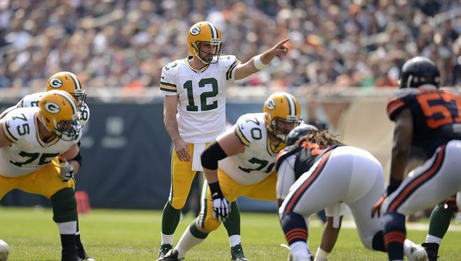 The no-huddle today often is more about the adjustments at the line of scrimmage, with quarterbacks such as Aaron Rodgers standing at the line playing cat and mouse with defenses throughout the 40-second play clock.