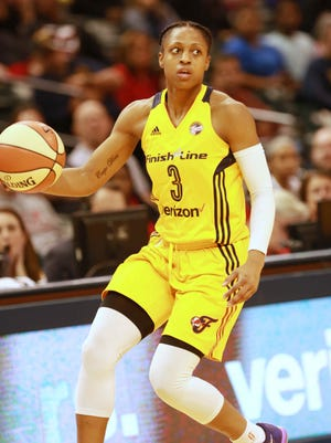 The Fever got Tiffany Mitchell with the ninth pick in the WNBA draft.