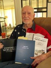 World War II bomber pilot Robert Harwell took part