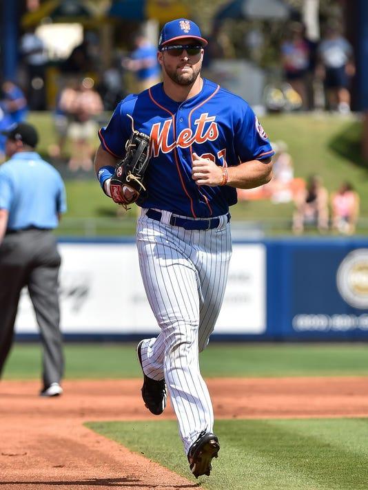 USP MLB: SPRING TRAINING-HOUSTON ASTROS AT NEW YOR S BBN NYM DET USA FL