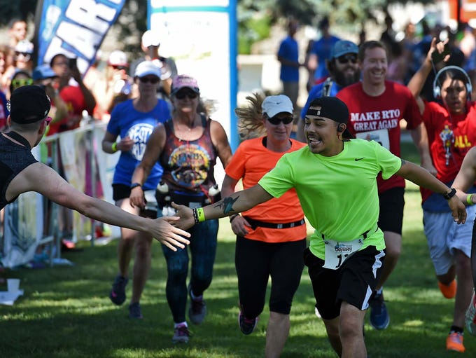 Images from the Reno Tahoe Odyssey starting line at