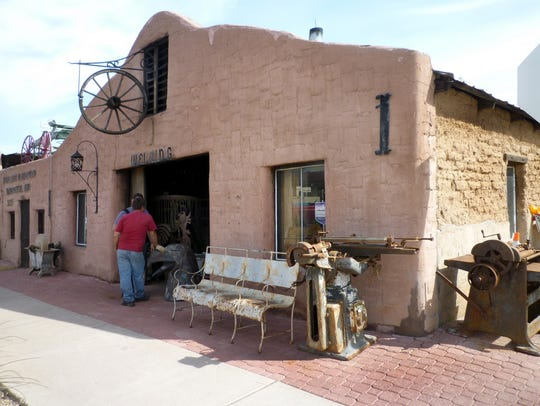 Cavalliere's Blacksmith Shop in downtown Scottsdale