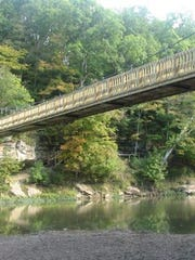 Turkey Run State Park in